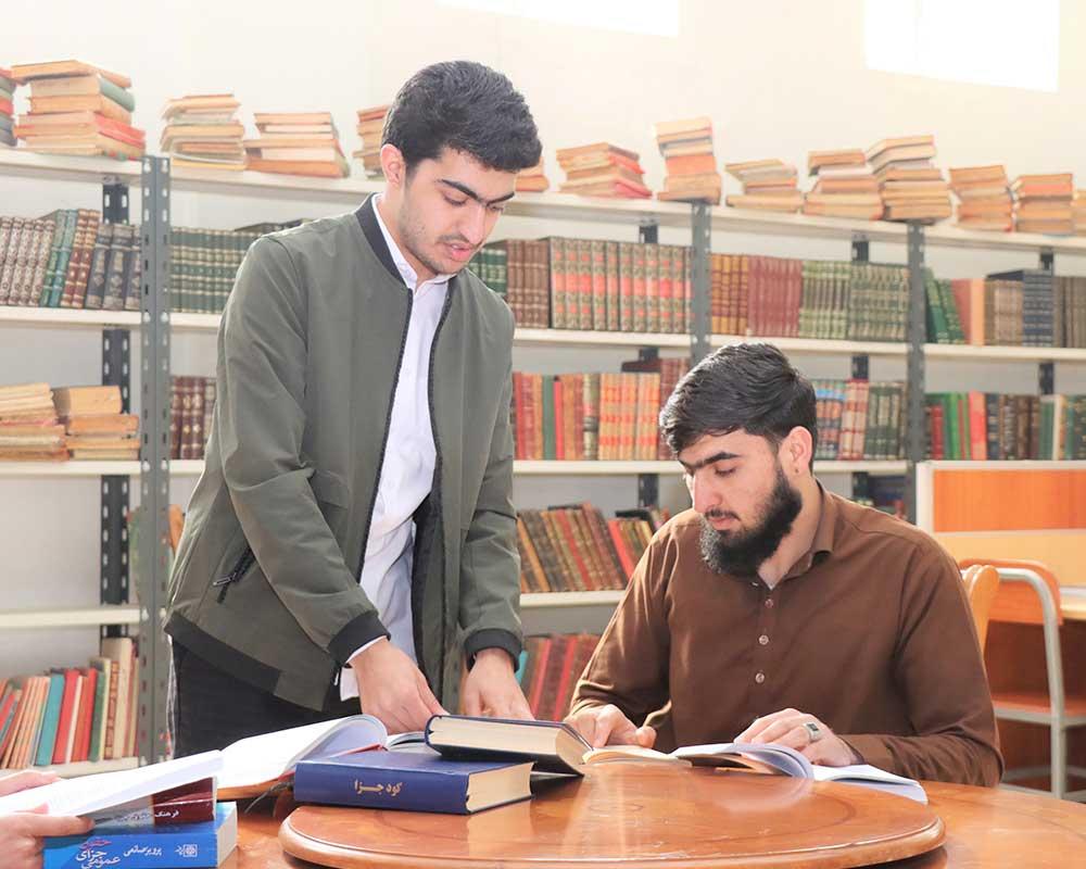 Afghan-university-libraryافغان پوهنتون کتابخانه